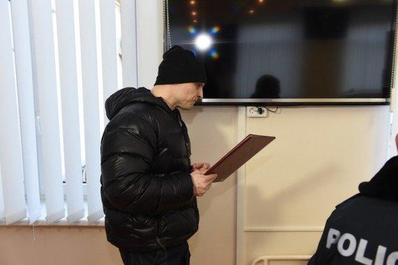 Ugniaus Mikaliūno nuotr./Teismo salėje