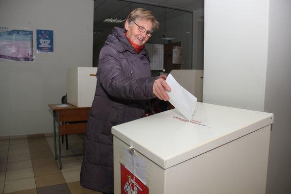 Tomo Markelevičiaus nuotr./Rinkimų diena Panevėžyje