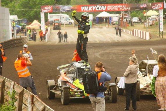Organizatorių nuotr./Europos autokroso čempionatas