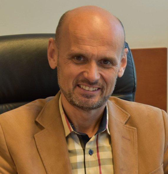 """""""Ekoagros"""" direktorius prof. dr. G.Labanauskas"""