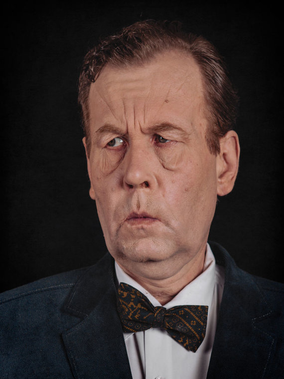 """Tomas Juzeliūnas """"Kompozitoriaus portretas"""""""