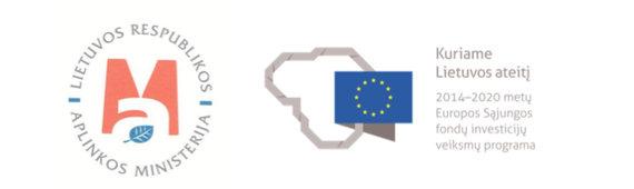 Aplinkos ministerijos ir ES logotipas