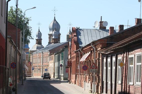 Jekabpilis - miestas, kuris nepakeliui