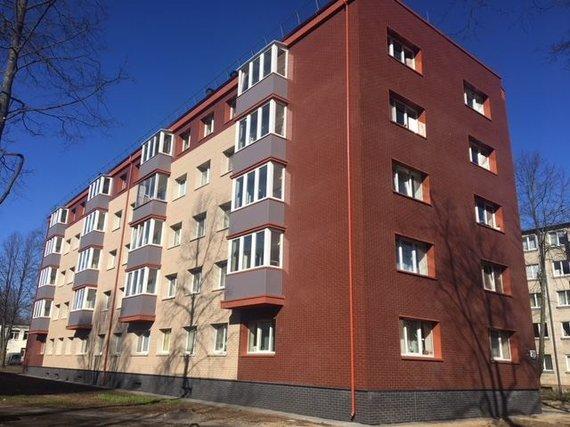 Apšiltintas namas Klaipėdoje