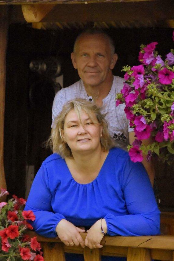 Rimvydas ir Andželika Bagočiūnai