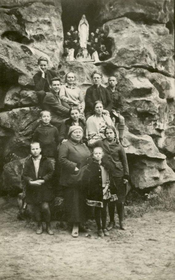 """Šiaulių """"Aušros"""" muziejaus archyvo nuotr./Istorinės Venclauskių šeimos nuotraukos"""