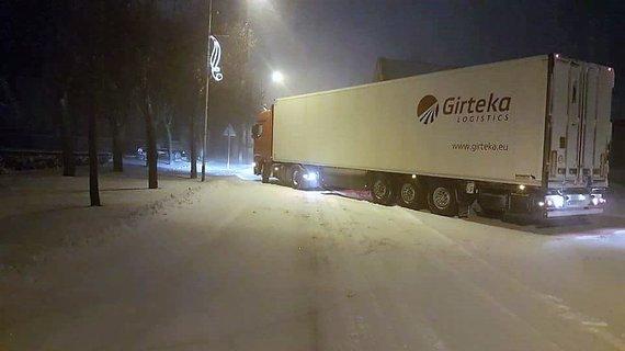 Skaitytojo Viliaus nuotr./Šiaulių apskrityje gausiai pasnigo