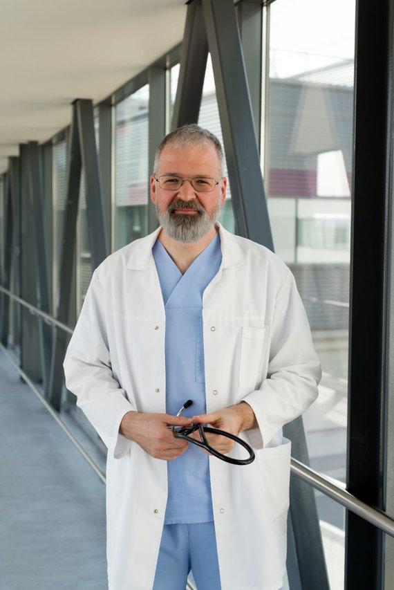 J.Kunigiškytės nuotr./Prof.Laimonas Griškevičius