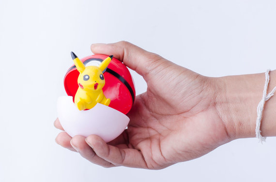 123RF.com nuotr./Pikachu herojus