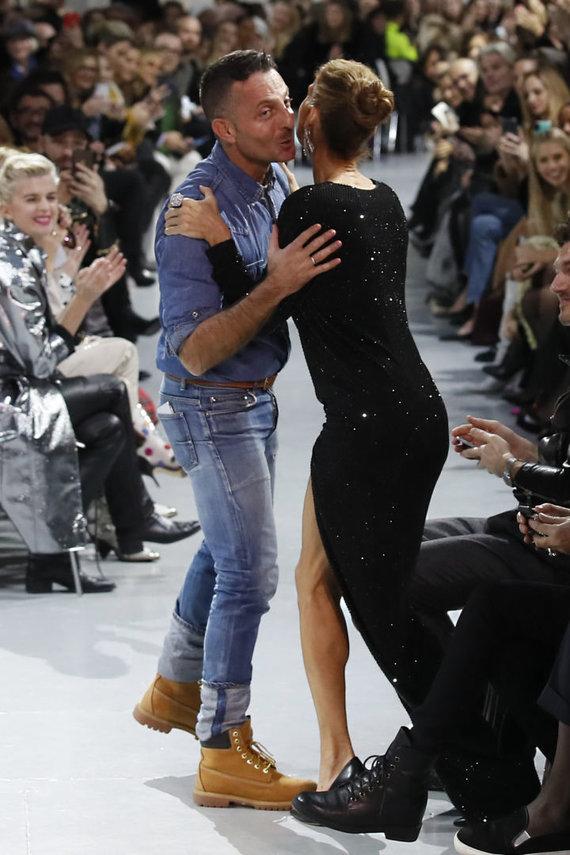 """""""Scanpix""""/AP nuotr./Alexandre'as Vauthier ir Celine Dion"""