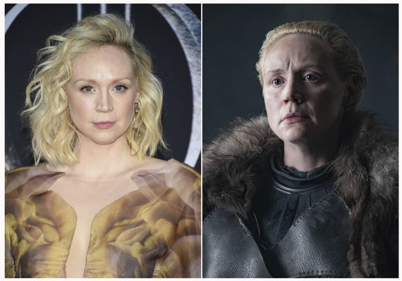 """""""Scanpix""""/AP nuotr./Gwendoline Christie ir jos kuriamas personažas Brienne"""