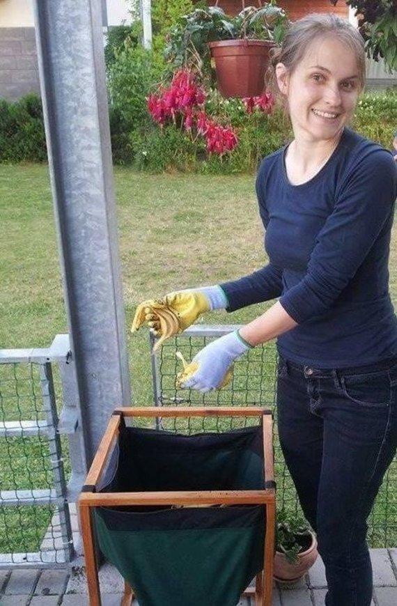 Asmeninio archyvo nuotr./Aurelija kompostavimo idėją parsivežė iš JAV