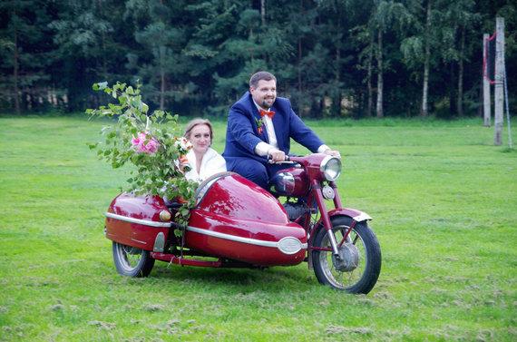 Asmeninio archyvo nuotr. /Andrius ir Sandra Čereškevičiai