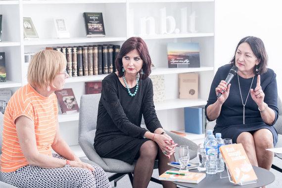 Vygaudo Juozaičio nuotr./Iš kairės: Žydrė Arlauskaitė, Vilma Mažeikienė ir Lolita Varanavičienė