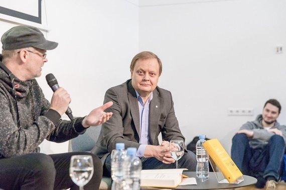 Vygaudo Juozaičio nuotr./Darius Pocevičius (kairėje) ir dr. Osvaldas Rukšėnas