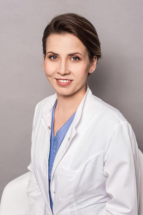 Asmeninio archyvo nuotr. /Gydytoja dermatovenerologė Inga Kisielienė