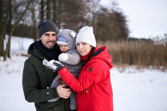Asmeninio archyvo nuotr. /Simonos ir Jevgeni Filippovų šeima