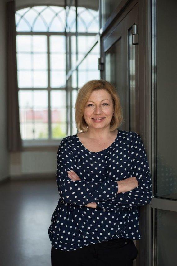 Asmeninio archyvo nuotr. /Birutė Ruplytė, ISM Vadybos ir ekonomikos universiteto dėstytoja