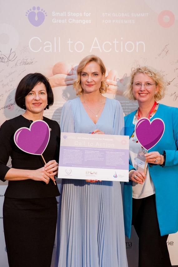 Pranešimo autorių nuotr./Iš kairės: Rasa Tamelienė, Asta Speičytė-Radzevičienė ir S.Mader