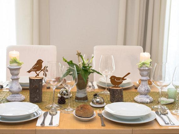 Fotolia nuotr./Velykų stalo dekoras