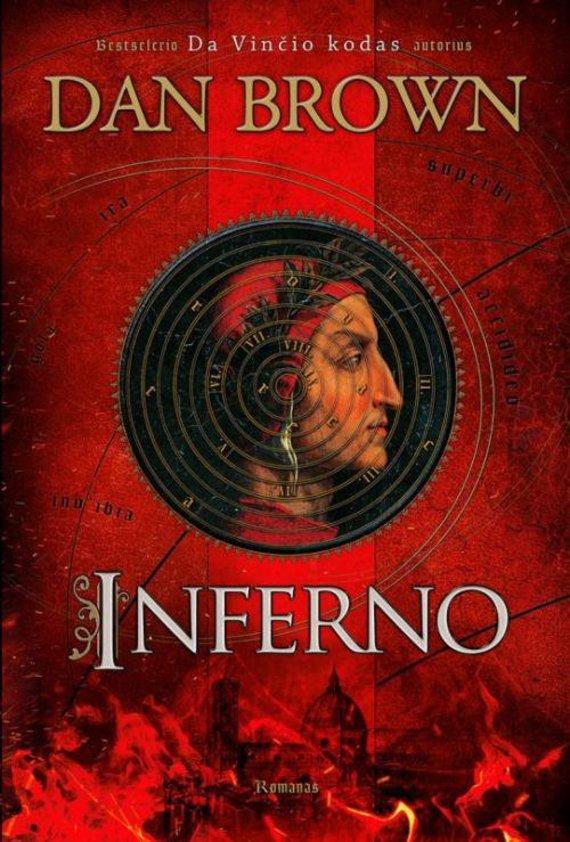 """Knygos viršelis/Knyga """"Inferno"""""""