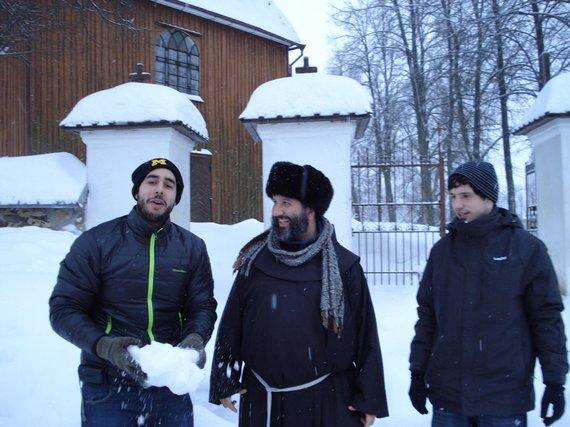 Asmeninio archyvo nuotr./Lietuviškos žiemos linksmybės