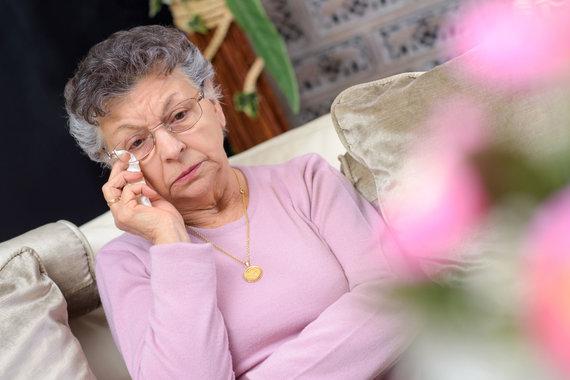 """""""Scanpix"""" nuotr./Vyresnio amžiaus moteris"""