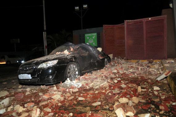 """""""Reuters""""/""""Scanpix"""" nuotr./Venesuelą supurtė žemės drebėjimas"""