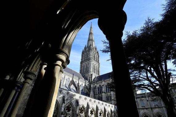 """""""Reuters""""/""""Scanpix"""" nuotr./Solsberio katedra, kurią neva taip norėjo išvysti įtariami GRU agentai"""