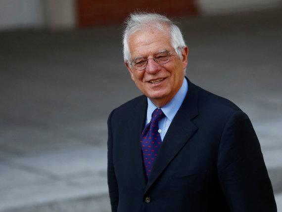 """""""Reuters""""/""""Scanpix"""" nuotr./Ispanijos diplomatijos vadovas Josepas Borrellas"""