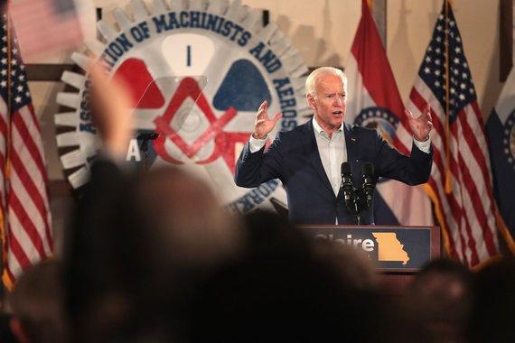 "AFP/""Scanpix"" nuotr./Buvęs JAV viceprezidentas Joe Bidenas"