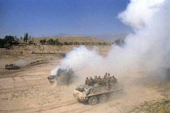 """""""Scanpix"""" nuotr./Sovietų kariai Afganistane"""
