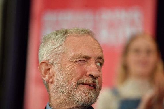 """AFP/""""Scanpix"""" nuotr./Jeremy Corbynas"""