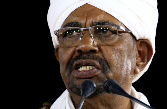 """""""Reuters""""/""""Scanpix"""" nuotr./Sudano prezidentas Omaras al-Bashiras"""