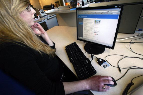 "AFP/""Scanpix"" nuotr./Beveik pusė Estijos rinkėjų šiemet balsavo internetu"
