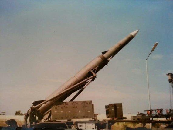 "Vikipedijos nuotr./Raketa ""Pershing II"""