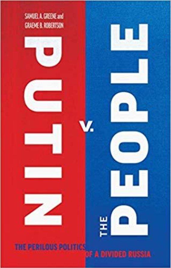 "Amazon nuotr./Knygos ""Putin v the People"" viršelis"