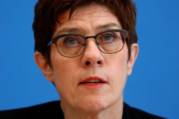 "AFP/""Scanpix"" nuotr./Annegret Kramp-Karrenbauer"