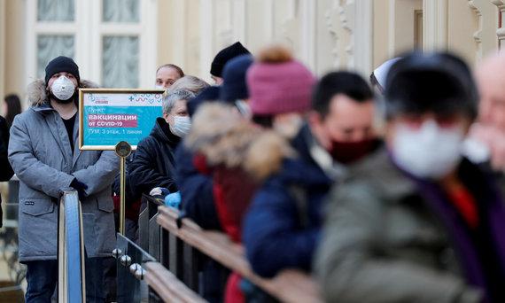 Reuters / Scanpix photo / Slow coronavirus vaccination in Russia