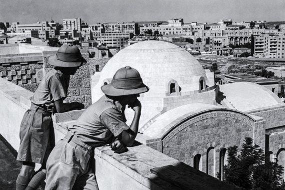 """AFP/""""Scanpix"""" nuotr./Britų kariai Jeruzalėje"""