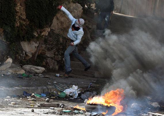 """AFP/""""Scanpix"""" nuotr./Palestiniečiai dukart kilo kovoti prieš Izraelį intifadose"""