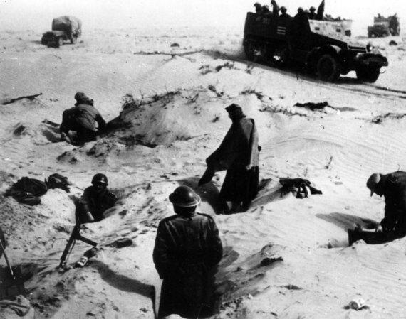 """""""TopFoto""""/""""Scanpix"""" nuotr./Izraelio kariai 1949 metų sausį"""
