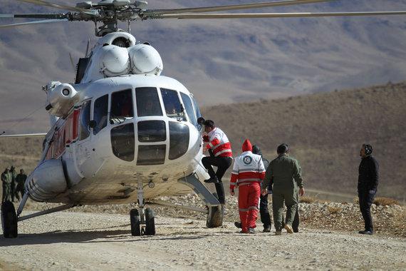 """""""Reuters""""/""""Scanpix"""" nuotr./Iranas atnaujino dingusio lėktuvo paiešką"""