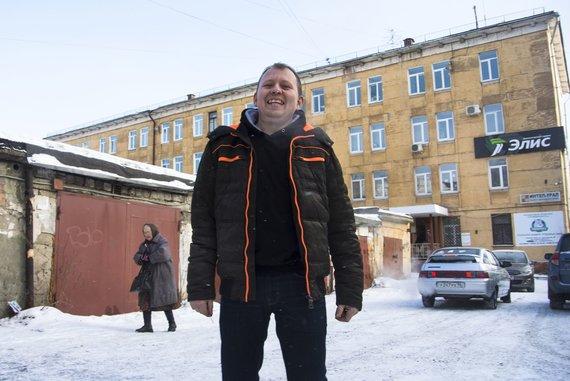 """Scanpix""/AP nuotr./""Uralvagonzavod"" gamyklos darbininkas Maksimas Antonovas"