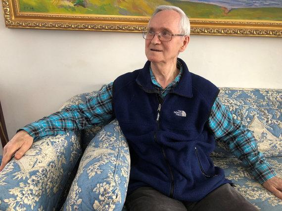 """""""Reuters""""/""""Scanpix"""" nuotr./Rusų chemikas Vilas Mirzajanovas, kuris pirmasis atskleidė nervus paralyžiuojančių medžiagų """"Novičiok"""" egzistavimą"""