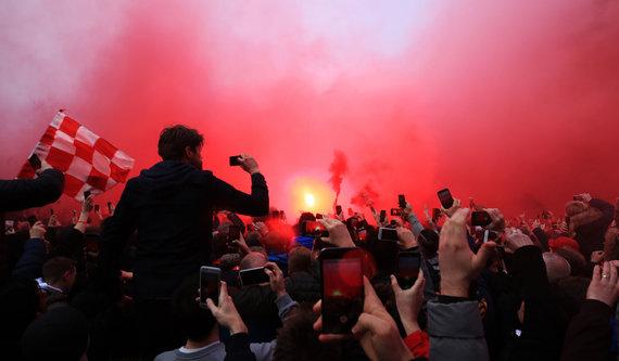"""Scanpix""/""PA Wire""/""Press Association Images"" nuotr./""Liverpool"" gerbėjai"