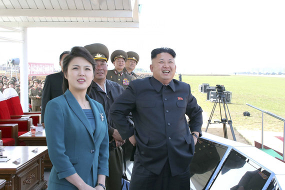 """Reuters""/""Scanpix"" nuotr./Kim Jong Unas ir Ri Sol Ju"