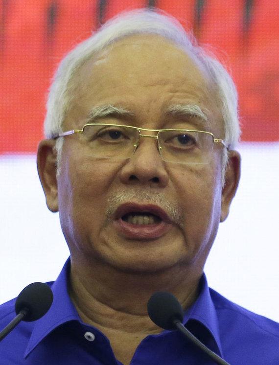 """""""Scanpix""""/AP nuotr./Malaizijos premjeras Najibas Razakas"""