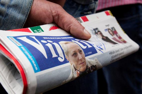 """""""Reuters""""/""""Scanpix"""" nuotr./""""Vijesti"""" žurnalistė Olivera Lakič, į kurią buvo pasikėsinta"""