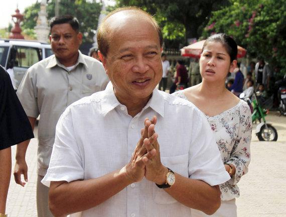 """""""Scanpix""""/AP nuotr./Kambodžos princas Norodomas Ranariddhas"""